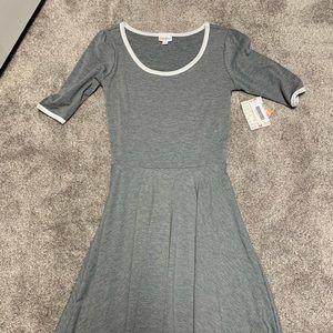 LulaRoe Nicole Ringer Dress Size Small